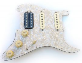 Loaded Pickguard Fender Stratocaster American Deluxe Fat Strat HSS