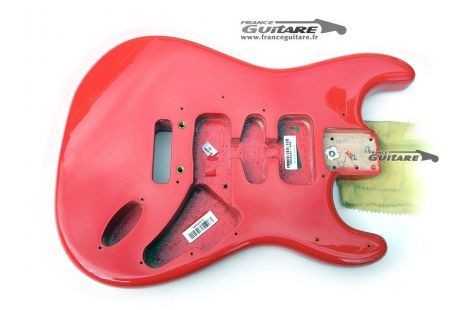 Corps Fender Stratocaster American Deluxe Fiesta Red Jeff Beck