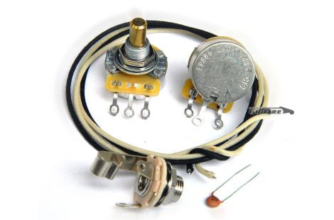 Kit câblage circuit électronique Precision Bass allparts EP4139-000
