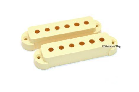 capots cover micros Fender Jaguar aged white 005-4492-000