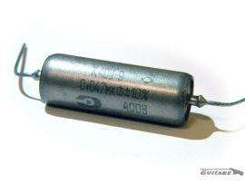 Condensateur Paper Oil Russe Soviet .047uF Aluminium