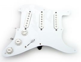 Loaded Pickguard Stratocaster Samarium Cobalt Noiseless Active Clapton Boost