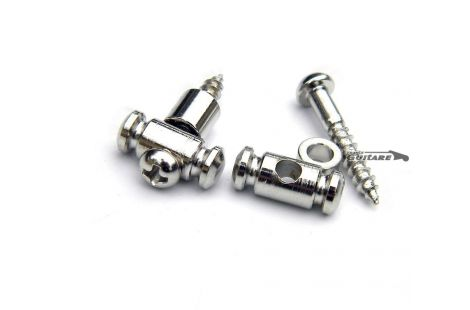 Paire de guides cordes Gotoh Cylindrique Strat et Tele nickel ou gold