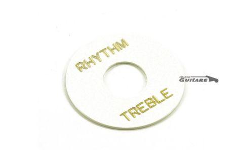 Disque Treble Ryhtm pour sélecteur toogle 3 positions Gibson Les Paul et Fender