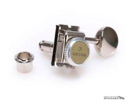 Mécaniques 6 en ligne à blocage Gotoh MGT Vintage pour Strat et Tele