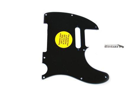 Pickguard pour Telecaster Fender American Standard 3 plis Noir 8 trous