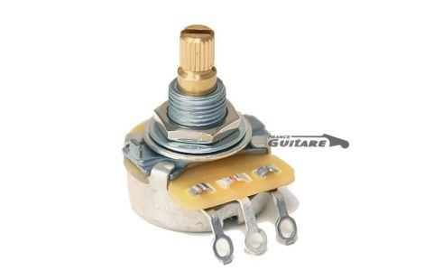 Potentiomètre Audio Standard CTS 250K guitares et basses Fender