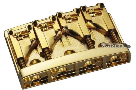 Schaller Bridge Bass satin gold 3D4-G