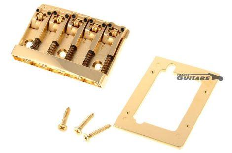 Schaller Chevalet Basse 5 cordes série 3D-5 gold