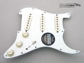 Loaded Pickguard Stratocaster American Std 2013 Fat 50s