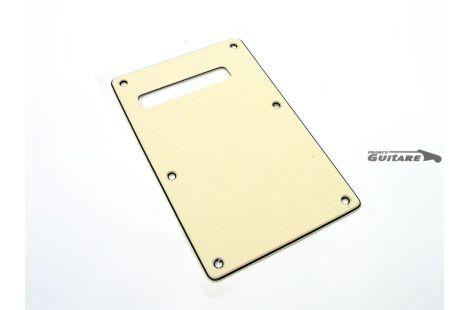 Plaque Stratocaster Cache Tremolo 3 plis Aged White American Standard