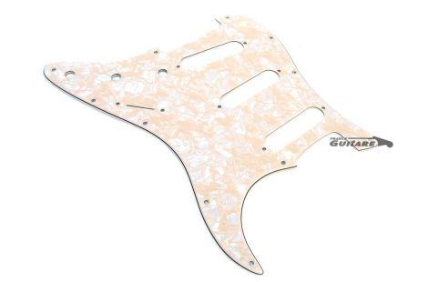 Pickguard Stratocaster American Standard Deluxe Aged White perloide