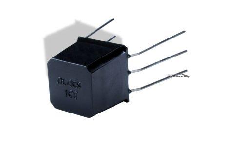 Black Ice condensateur effet Overdrive intégré sur circuit de Strat