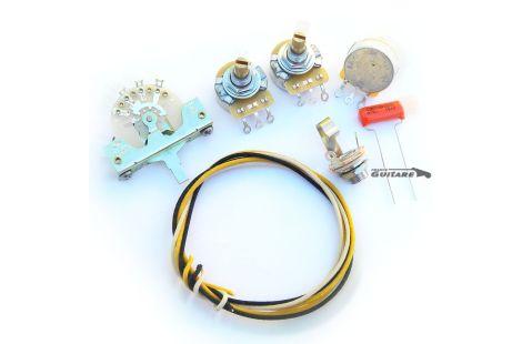 Kit électronique de câblage circuit Stratocaster Fender standard USA