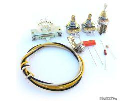 Kit électronique câblage circuit Stratocaster Fender Deluxe Push Push
