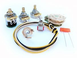 Kit électronique câblage circuit Stratocaster Fender American Deluxe S-1