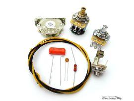 wirign kit câblage Fender Telecaster Baja S-1 4 ways