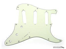 Pickguard Stratocaster Jimi Hendrix Voodoo Mint Green reverse bridge