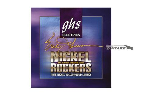 Cordes Guitare GHS Eric Johnson Signature Nickel Rockers