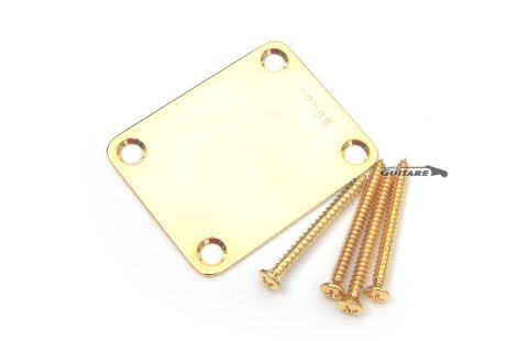Plaque Manche Standard Gold Vintage Numérotée Série L