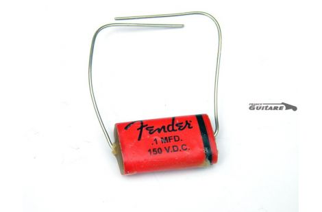 Condensateur Fender pure vintage rouge Repro Cornell Dubilier ZNW1P1