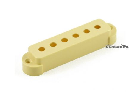 Capot cache micro simple Fender Jaguar Aged White 005-4492-000