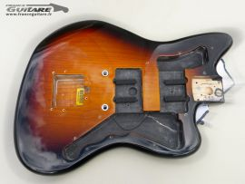 Corps Fender Jazz Master Sunburst 3 tons vintage 60s Reissue