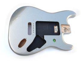 Corps Fender Stratocaster Mexico Lone Star Ghost Silver Mist