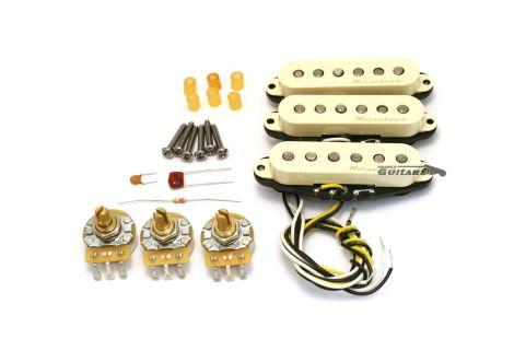 Micros Fender Vintage Noiseless Stratocaster Aged White
