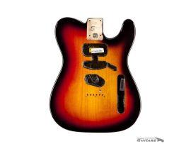 Corps Genuine Fender Telecaster American Standard Sunburst 3 tons