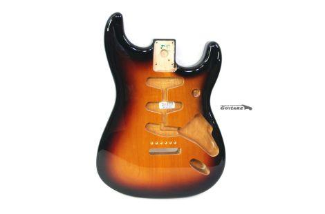 Corps Stratocaster Fender Classic 60s Sunburst 3 Tons