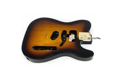 Corps Fender Telecaster American Standard SSH Sunburst 2 tons