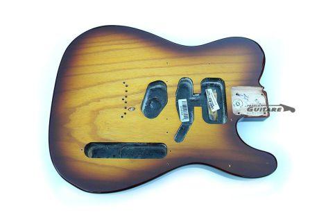 Corps Fender Telecaster American Standard SSH Cognac Burst Edition Spéciale