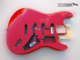 Corps Fender Stratocaster Eric Clapton Torino Red 2013