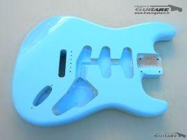 Corps Stratocaster Nitro Daphne Blue Closet Clean Aged Finish