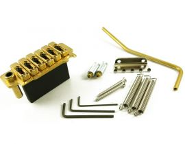 Tremolo Strat Wilkinson VS100G 2 pivots finition Chrome Gold ou Black