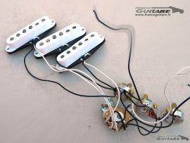 Set de micros prewired Fender Stratocaster Classic Series 60s