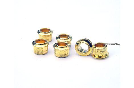 Bagues Bushing Fender Gold mécaniques vintage type Ping Strat et Tele