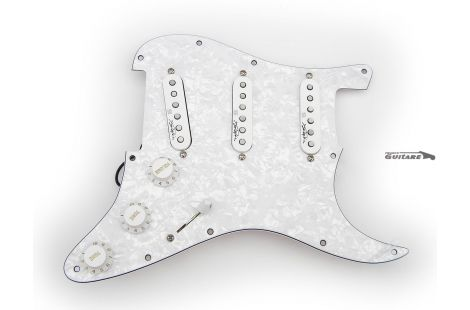 Seymour Duncan Jimi Hendrix Stratocaster Loaded Pickguard Voodoo Pearl