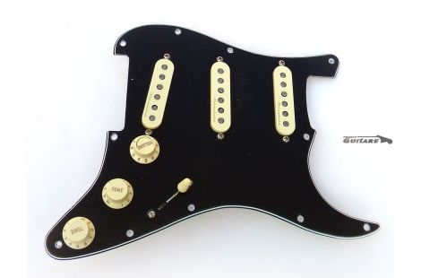 Loaded Pickguard Stratocaster Deluxe Roadhouse Vintage Noiseless
