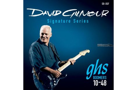 Cordes pour Guitare GHS Boomer Artist David Gilmour Roundwound 10/48