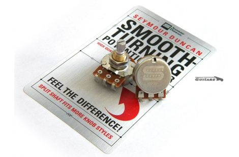 Potentiomètre Stratocaster Seymour Duncan Smooth Turning 250K Audio