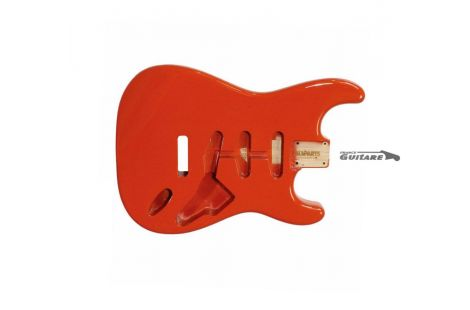 Corps Stratocaster Allparts Vintage 60s Alder Fiesta Red