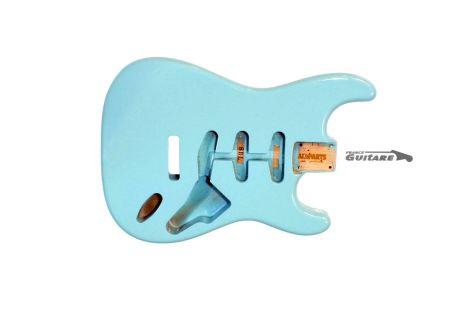 Corps Stratocaster Allparts Vintage 50s Alder Daphne blue