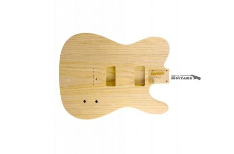 Corps licence Allparts Telecaster Cabronita HH frêne Ash brut