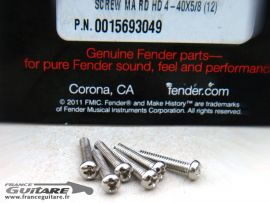 Vis intonation diapason Fender pour pontets de Stratocaster