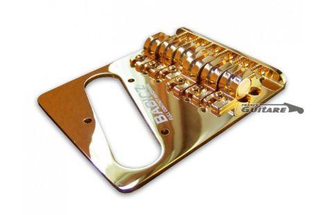 Babicz Telecaster Tele Bridge gold Full Contact