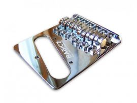 BABICZ TELECASTER TELE BRIDGE CHROME BLACK GOLD FULL CONTACT