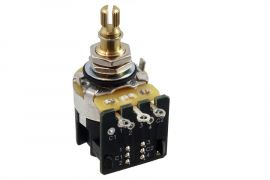 CTS 250K potentiomètre audio DPDT push/pull switch