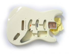 Corps Fender Stratocaster Artist Serie Eric Clapton Olympic White